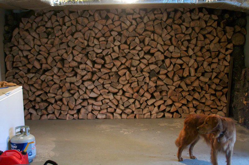 Photo of Wall of Wood