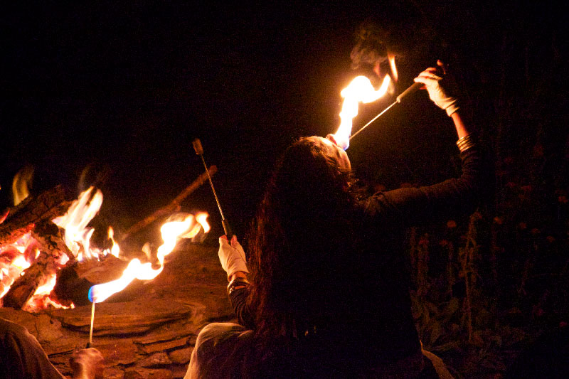 Photo of Fire eating