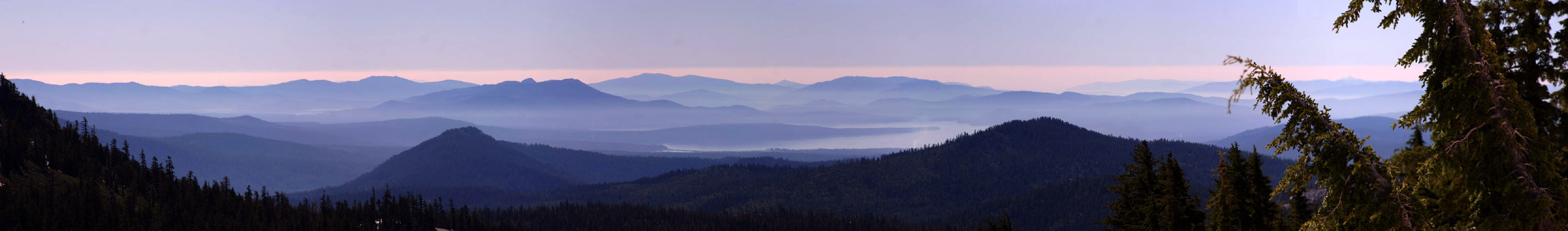 Photo of View from Lassen National Park