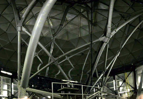 Photo of Inside the Hobby-Eberly Telescope