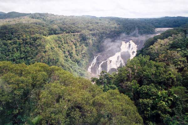Photo of A waterfall which is nowhere near the Great Sandy Desert