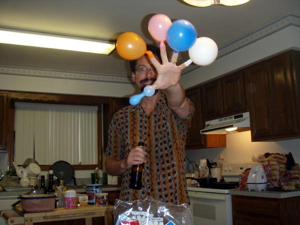 Photo of We celebrate our national heritage of balloon-fingers