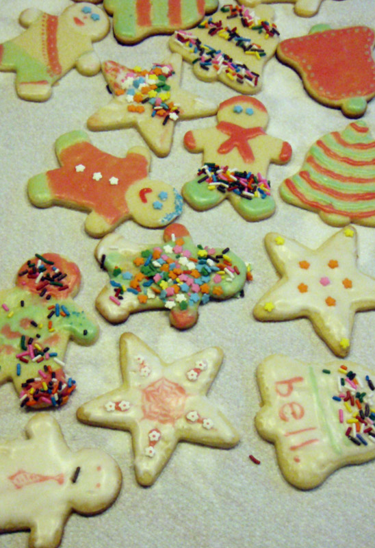 Photo of Christmas cookies