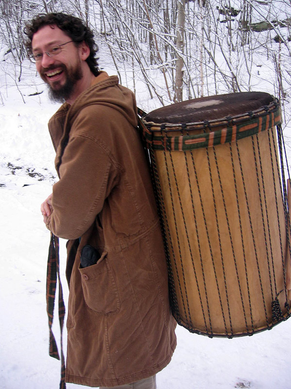 Photo of Me and a drum